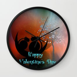 Valentine's Day -2- Wall Clock