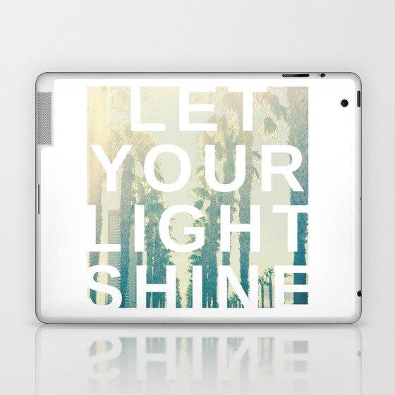 Let your light shine Laptop & iPad Skin