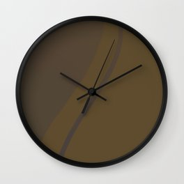 Wrapped Round Wall Clock