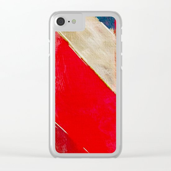 The River of Pink Sand Clear iPhone Case