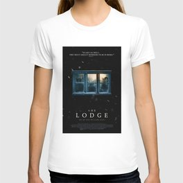 """You're Not Welcome Here - """"The Lodge"""" T-shirt"""
