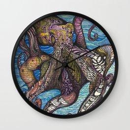 Underwater Colors Wall Clock