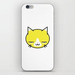 Kore wa Cat (Smug Yellow Cat) iPhone Skin
