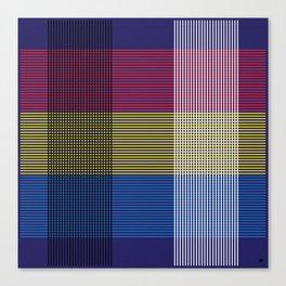 Crossing Color Canvas Print