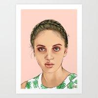 venus Art Prints featuring VENUS by Laura O'Connor