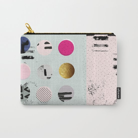 Pastel Hues Carry-All Pouch