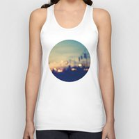 blueprint Tank Tops featuring We're only young once by Laura Ruth