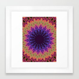 acid test5 Framed Art Print