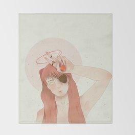 Asuka Langley 02 Throw Blanket