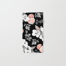 Night bloom - moonlit flame Hand & Bath Towel