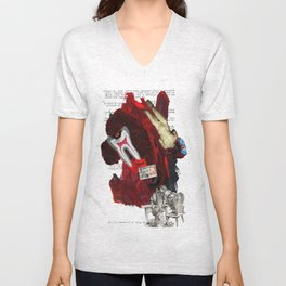 The contemporary situation Unisex V-Neck