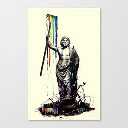 God of Graffiti Canvas Print