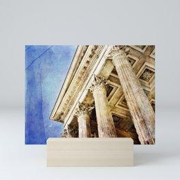 Ancient Roman Temple Mini Art Print