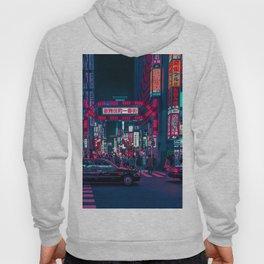 Cyberpunk Tokyo Street Hoody