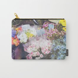 French Flowers Carry-All Pouch