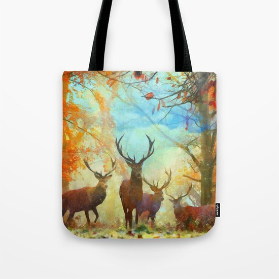 Autumn Forest Watch Tote Bag