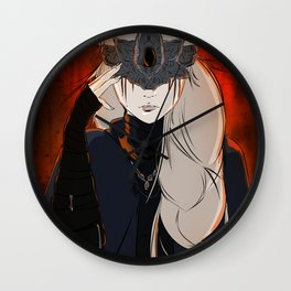 The Firekeeper Wall Clock
