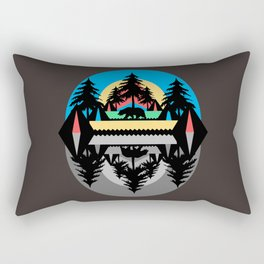 Bear Camp Rectangular Pillow