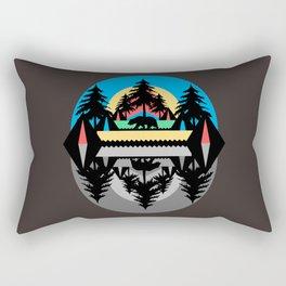 Bear Camp Rectangular Pillow