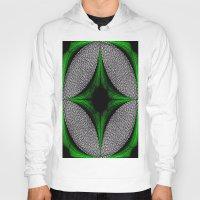 gem Hoodies featuring Green Gem by Sartoris ART