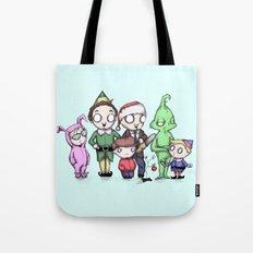 Christmas Boys Tote Bag