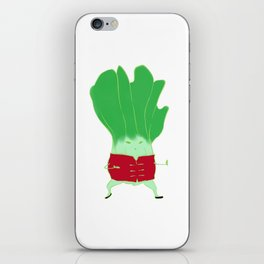 Kung Fu Bok Choy! iPhone Skin