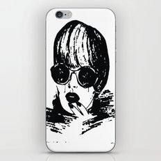 Girl iPhone & iPod Skin