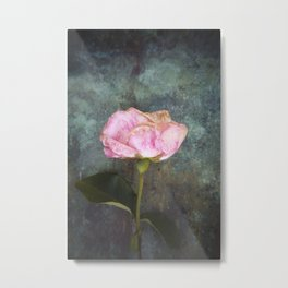 Wilted Rose III Metal Print