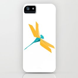 Origami Dragonfly iPhone Case