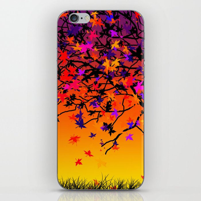 The Scent Of Halloween iPhone Skin