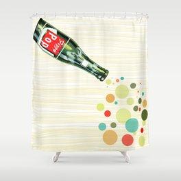Fizzy Pop Shower Curtain