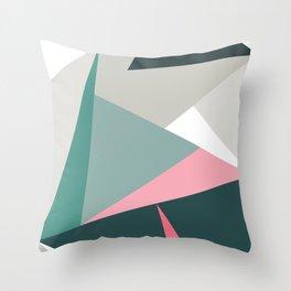 Modern Geometric 64 Throw Pillow