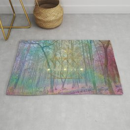 Magic of the Woods Rug