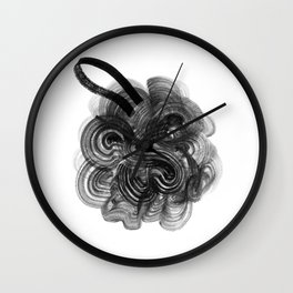 Shower Poof Wall Clock