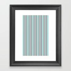 Fun Stripes! Framed Art Print