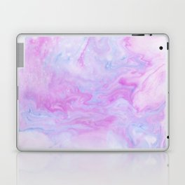 Violet marble Laptop & iPad Skin