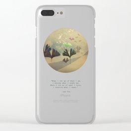 phoenix-like Clear iPhone Case