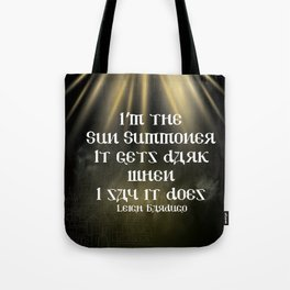 Sun Summoner Tote Bag