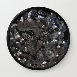 Nature eye Wall Clock