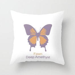 Ulysses Butterfly 9 Throw Pillow