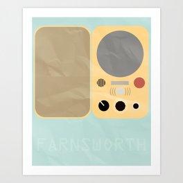 Farnsworth Art Print