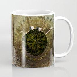 Logging Makes the World Go Round Mini Planet Orb Coffee Mug