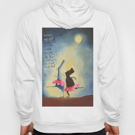 No excuse is needed for a party other than a full moon and a pink cha cha skirt Hoody