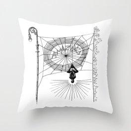 Peter's Web Throw Pillow