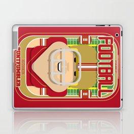 American Football Red and Gold - Enzone Puntfumbler - Sven version Laptop & iPad Skin