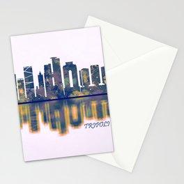 Tripoli Skyline Stationery Cards