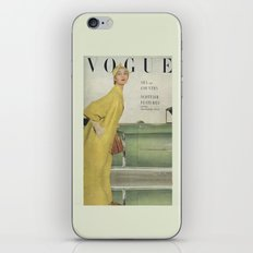 VOGUE 1950 iPhone & iPod Skin