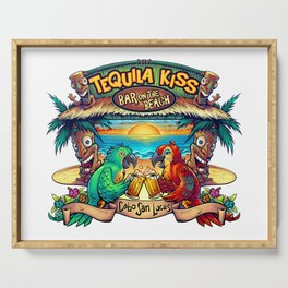 Tequila Kiss Bar On The Beach, Cabo San Lucas Serving Tray