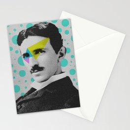 Nicola Tesla Stationery Cards