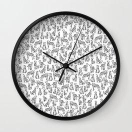 Dalmatian Plantation Wall Clock